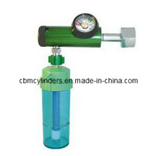 (Click-style) Medical Oxygen Regulator W/ O2 Humidifier