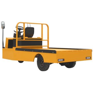 Трехколесный грузовик с электрической платформой