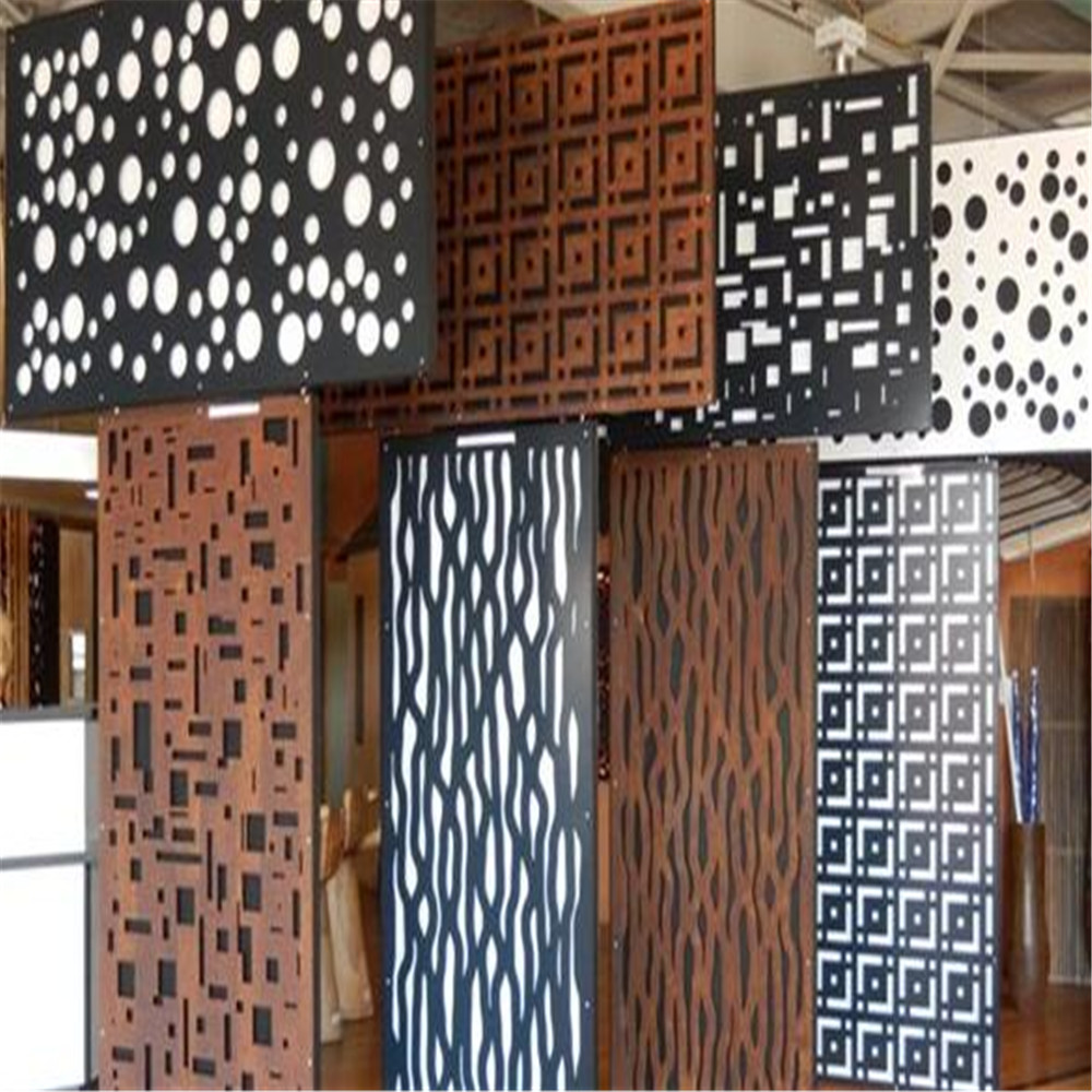 Decorative Laser Cut Metal Screen untuk Hotel