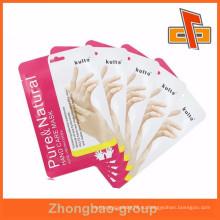 Пакет для упаковки в фольгу для лица или руки с индивидуальной печатью