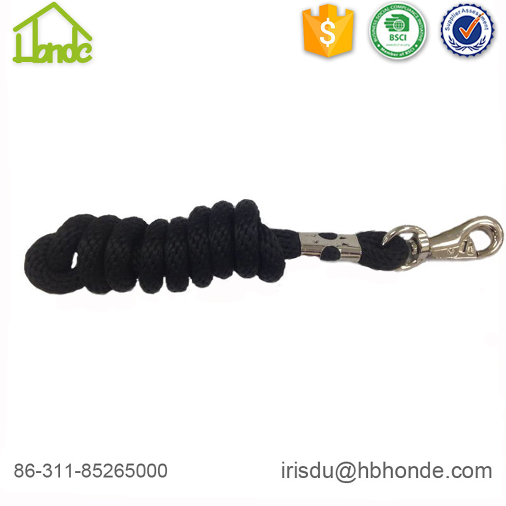 black lead rope