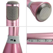 Microphone Bluetooth sans fil pour le karaoké