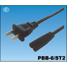 China CCC Power Cords with Eight-lane Socket