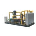 Aluminum Heat Exchanger for Skid-Mounted Compressor