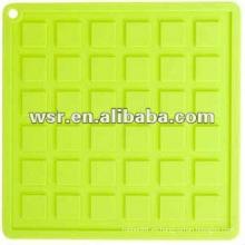 Estera de secado del plato de silicona con varios estilos