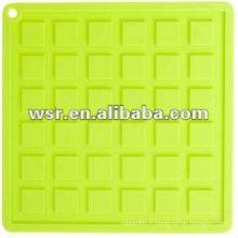 Tapis de séchage de plat de silicone avec le divers style