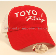 Custom Embroidery Cotton Twill Mesh Sport Trucker Cap (DST30-TO)