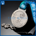 customzied music spinning running magnent medals