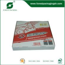 Fabricante de China de caixas de pizza personalizado barato