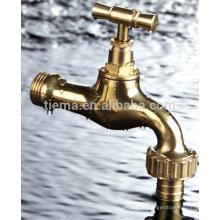 Traditioneller gelber Messing einzelner kaltes Wasser Bibcock