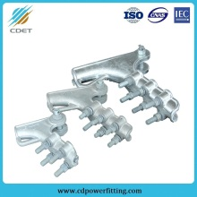Supply for for Insulation Strain Clamp Bolt type Aluminum Alloy Strain Clamp supply to New Zealand Factory