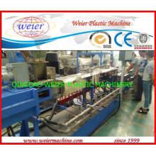 Línea de producción de granulación de corte en caliente de PVC