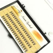 2016 Venta al por mayor Nuevo Diseño 2d-20d OEM Ruso Volumen Pestañas Estilo de Venta Caliente Etiqueta Privada Caja de Paquete Personalizado