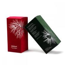 Cosmétiques colorés et emballage de bougies Tuck Top Box