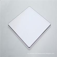 Hartes Polycarbonat-Vollblech 4 mm für Windschutzscheibe