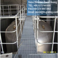 Hot DIP Galvanized Steel Pipe Stanchions for Security of Platform