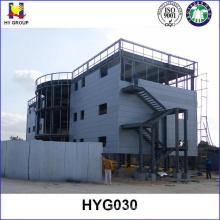 Edificio de estructura modular de acero hotel prefabricado