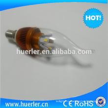100-240V / AC50-60HZ 400-500LM SMD5630 10LED 5w привели свечах E14