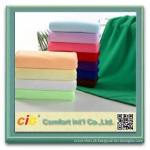 Rolo de tecido de toalha de microfibra 100 algodão ou CVC