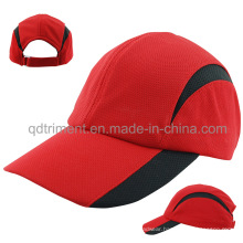 Comfortable Breathable Polyester Mesh Fabric Racing Sport Cap (TMR0674)