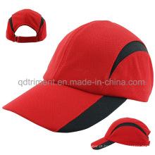 Soft confortável respirável poliéster malha beisebol cap Sport (TMR0674)