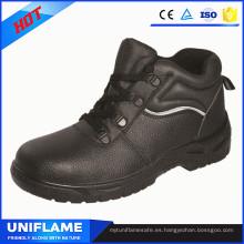 Zapatos de seguridad con punta de acero en la punta de los hombres Ufa078