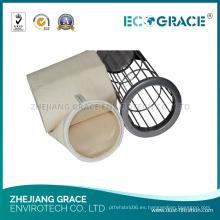 Recogedor de polvo PPS Disposición de gas Compuesto Bolsa de filtro Fabricante