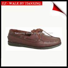 Calçados casuais de couro