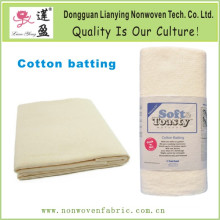 Soft and Toasty Natural 100-Percent Cotton Batting
