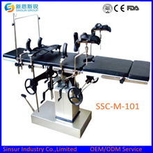 Manual Radiolucent Surgical Orthopedic Multi-Function Operating Table