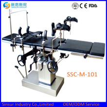 Manual Radiolucent Surgical Orthopedic Operating Tables