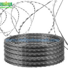 Murah Hot Dippped Galvanized Razor Barbed Wire
