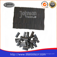 Segmento de techo de diamante para tubo de núcleo