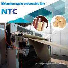Linha de impregnação de papel HPL / linha de colar de papel de melamina