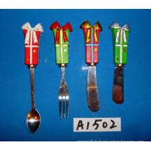 Épandeuse à décoration de Noël avec poignée en résine