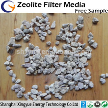 Granulado de zeólita natural para aditivos para alimentação de água