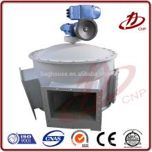 Válvula de descarga, alimentador de la esclusa o válvula de descarga de estrella utilizada en el colector de polvo