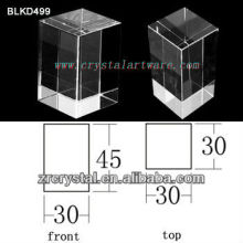 K9 Leer Crystal für 3D Lasergravur BLKD499