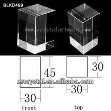 K9 Blanc cristal pour BLKD499 de la gravure de Laser 3D