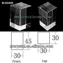 K9 Кристалл для 3D лазерная гравировка BLKD499 пустой
