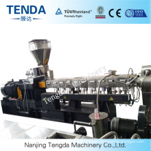 Tsh-65 130kw Conical Twin Screw Plastic Recycling Extruder