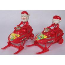 Doces de brinquedo de motor-trenós de Natal (110524)