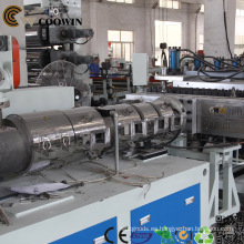 Línea de producción plástica de alta calidad del perfil de WPC / PE / PVC WPC / máquina de la protuberancia del PVC