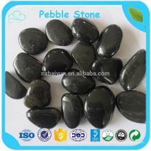 Eigene Fabrik Pure Black Pebbles Stein / Mixed bunte Kieselsteine