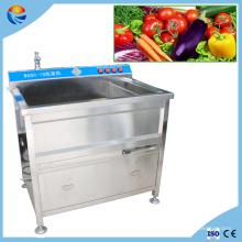 200-300kg / H automatische kommerzielle Ozon Obst und Gemüse Washer
