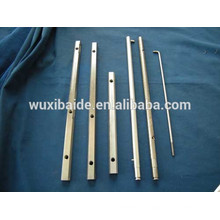 Kalifornien Präzision benutzerdefinierte Edelstahl verchromt CNC-Bearbeitung Teile verchromt Stahl Präzision cnc drehte Teile