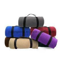 Оптовые теплые одеяла для путешествий из полярного флиса