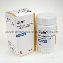 Zlipin Lamivu Nevira Zidovu Tablet Anti-HIV