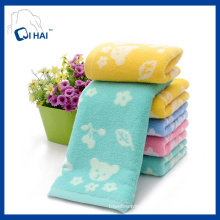 Cotton Yarn Jacquard Face Towel Manufacturer