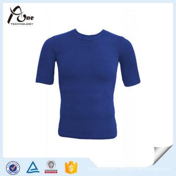 Seamless Gym T Shirt Man Sportswear Dry Fit T-Shirt